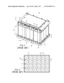 Battery Set with Heat Conducting Jelly diagram and image