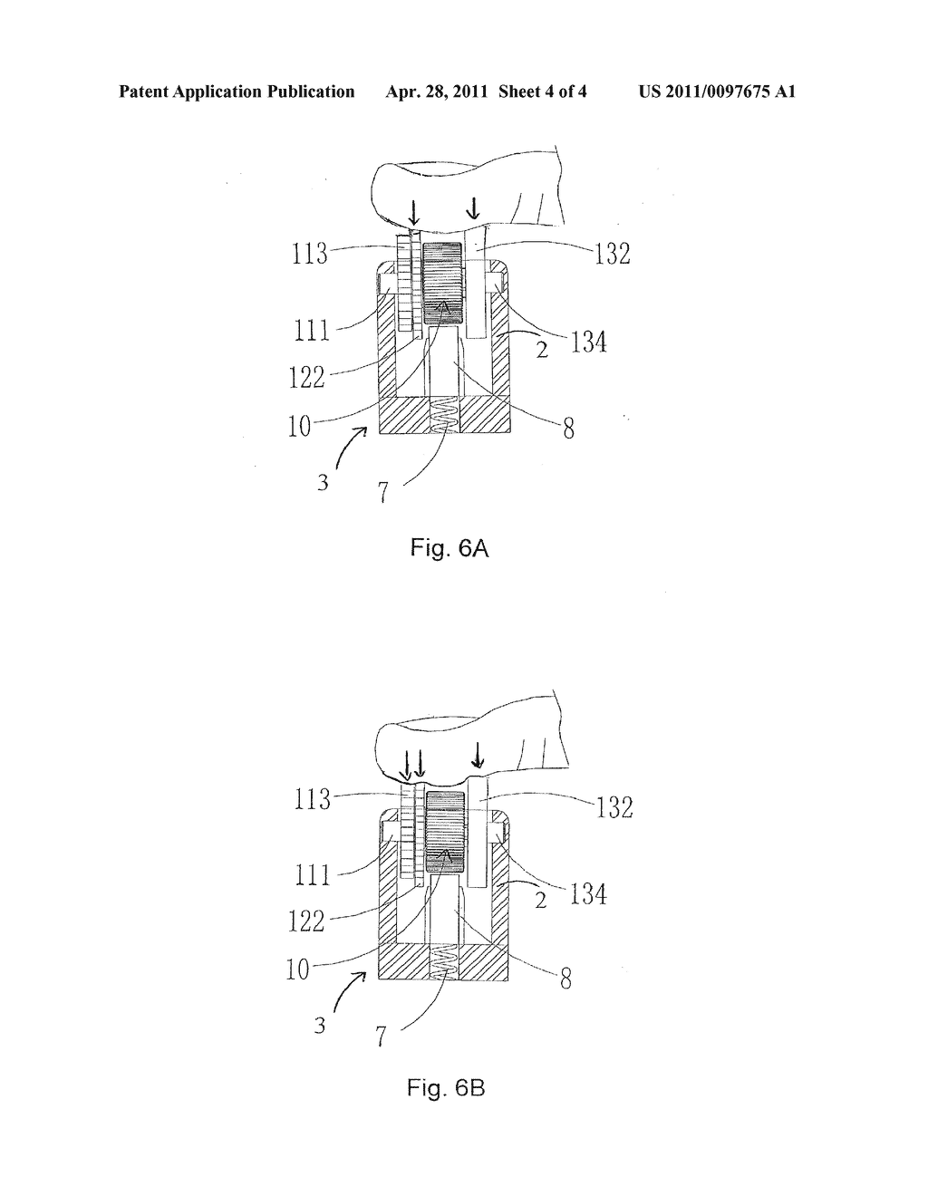 SAFETY LIGHTER WITH DOUBLE-WHEEL AND BUFFER-WHEEL IGNITION DEVICE - diagram, schematic, and image 05