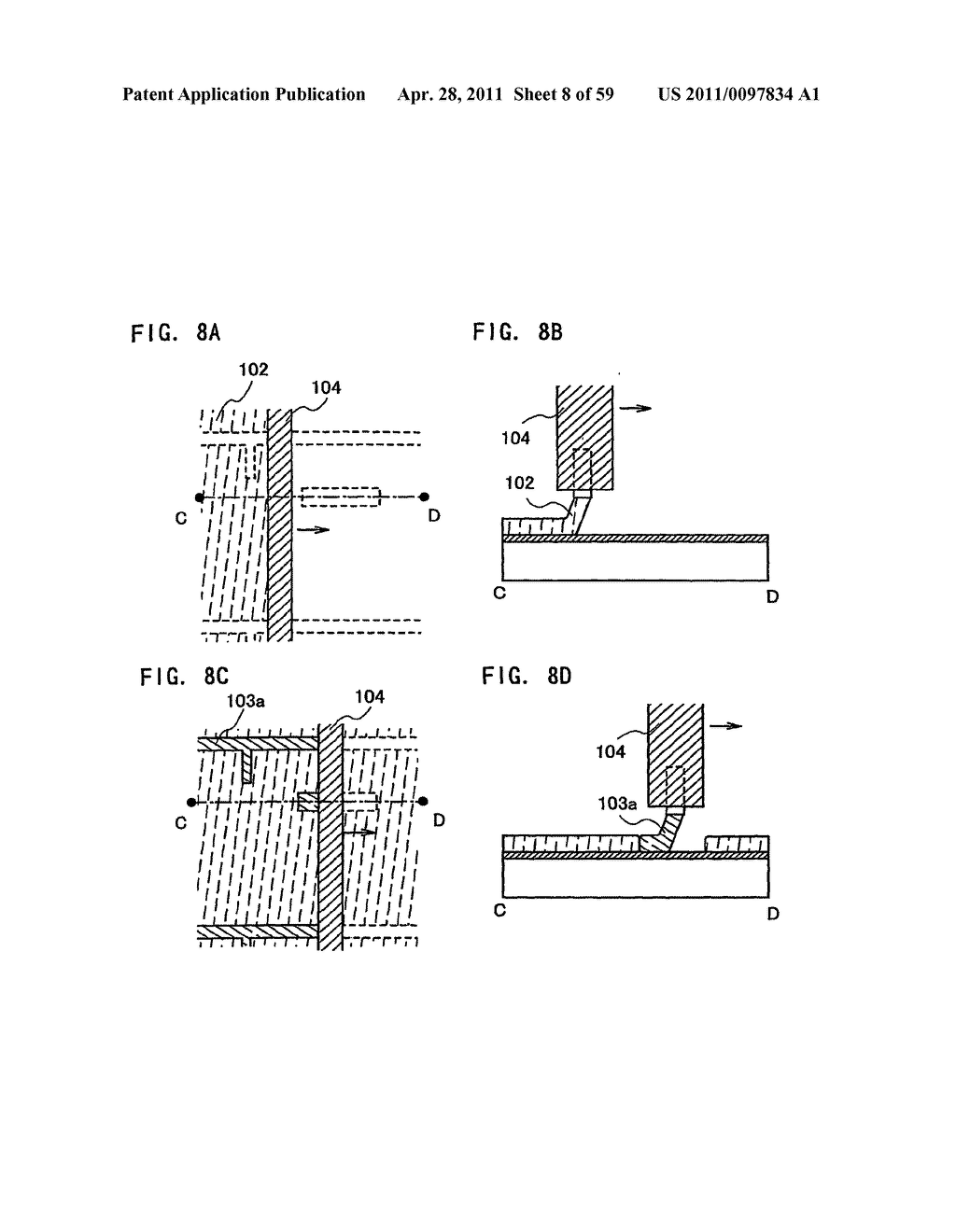 THIN FILM TRANSISTOR, DISPLAY DEVICE AND LIQUID CRYSTAL DISPLAY DEVICE AND METHOD FOR MANUFACTURING THE SAME - diagram, schematic, and image 09