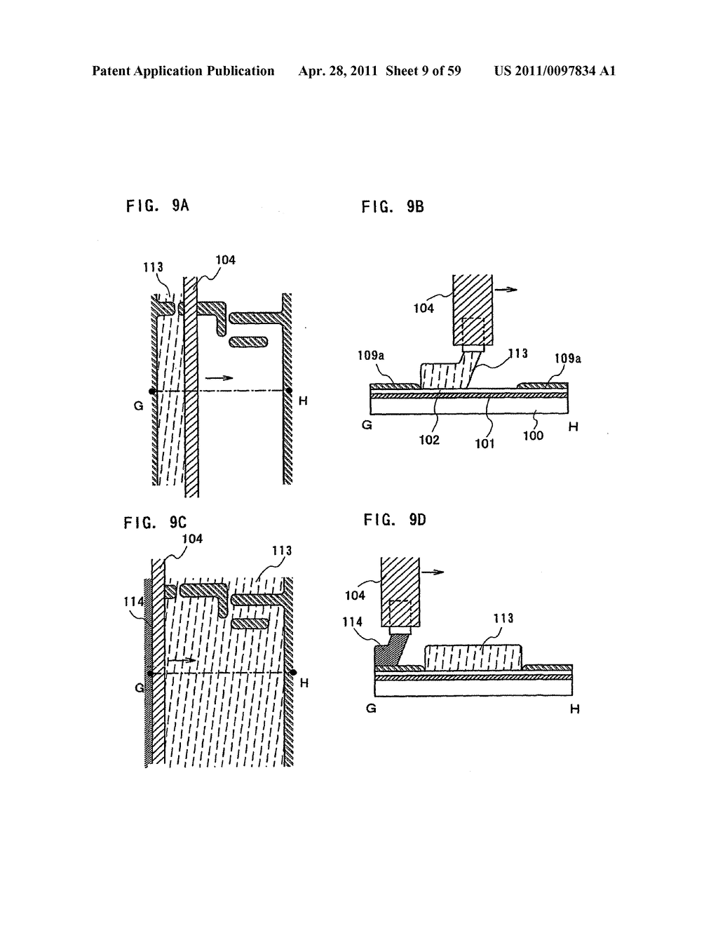 THIN FILM TRANSISTOR, DISPLAY DEVICE AND LIQUID CRYSTAL DISPLAY DEVICE AND METHOD FOR MANUFACTURING THE SAME - diagram, schematic, and image 10
