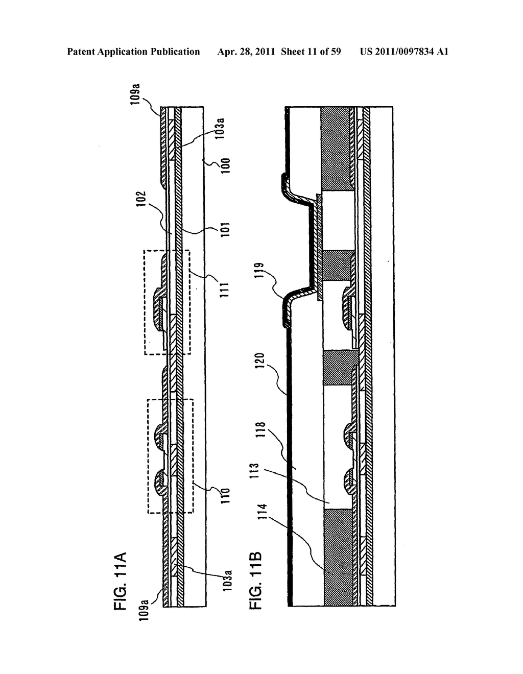 THIN FILM TRANSISTOR, DISPLAY DEVICE AND LIQUID CRYSTAL DISPLAY DEVICE AND METHOD FOR MANUFACTURING THE SAME - diagram, schematic, and image 12