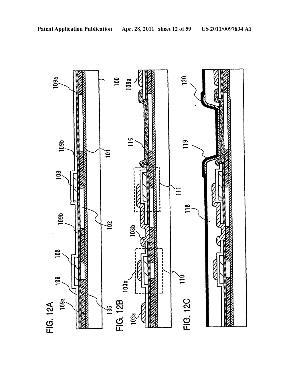 THIN FILM TRANSISTOR, DISPLAY DEVICE AND LIQUID CRYSTAL DISPLAY DEVICE AND METHOD FOR MANUFACTURING THE SAME - diagram, schematic, and image 13