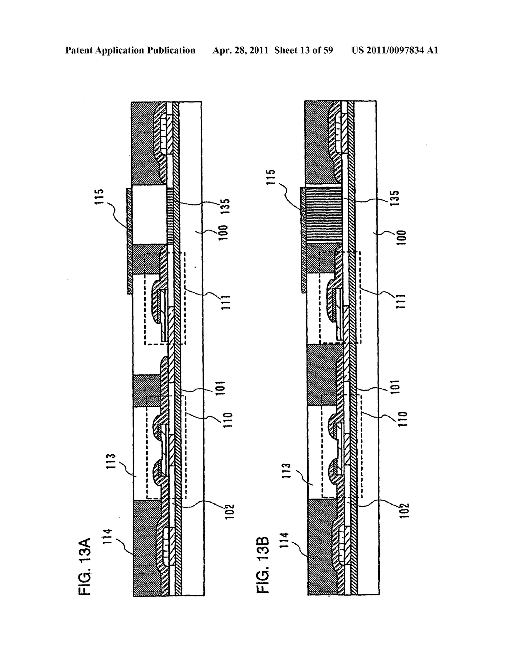 THIN FILM TRANSISTOR, DISPLAY DEVICE AND LIQUID CRYSTAL DISPLAY DEVICE AND METHOD FOR MANUFACTURING THE SAME - diagram, schematic, and image 14