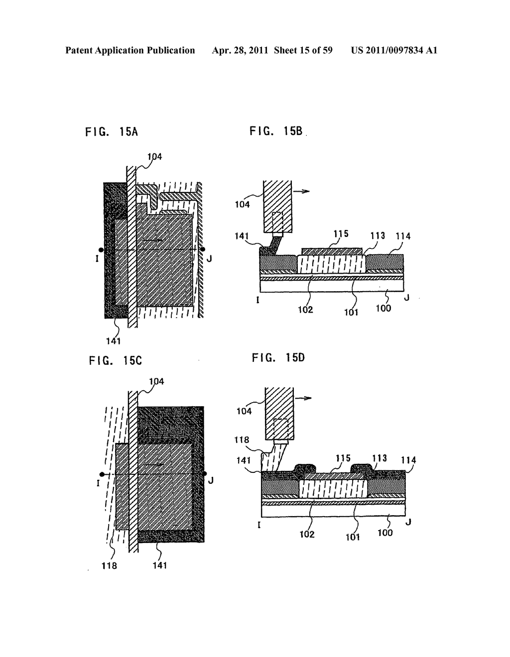THIN FILM TRANSISTOR, DISPLAY DEVICE AND LIQUID CRYSTAL DISPLAY DEVICE AND METHOD FOR MANUFACTURING THE SAME - diagram, schematic, and image 16