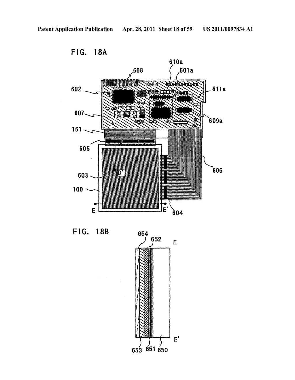 THIN FILM TRANSISTOR, DISPLAY DEVICE AND LIQUID CRYSTAL DISPLAY DEVICE AND METHOD FOR MANUFACTURING THE SAME - diagram, schematic, and image 19