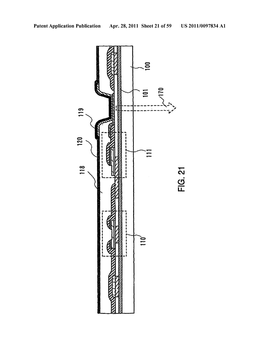 THIN FILM TRANSISTOR, DISPLAY DEVICE AND LIQUID CRYSTAL DISPLAY DEVICE AND METHOD FOR MANUFACTURING THE SAME - diagram, schematic, and image 22