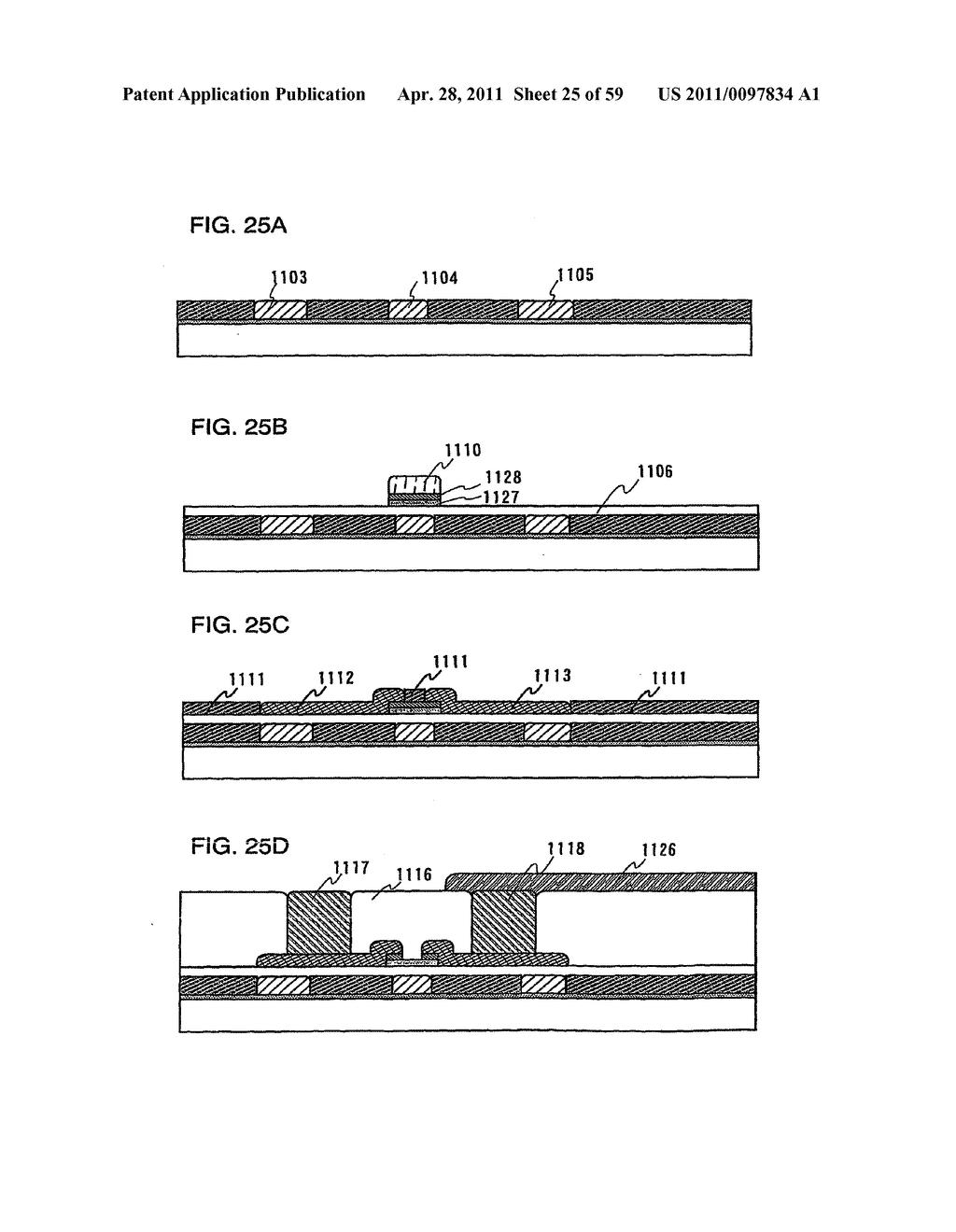 THIN FILM TRANSISTOR, DISPLAY DEVICE AND LIQUID CRYSTAL DISPLAY DEVICE AND METHOD FOR MANUFACTURING THE SAME - diagram, schematic, and image 26
