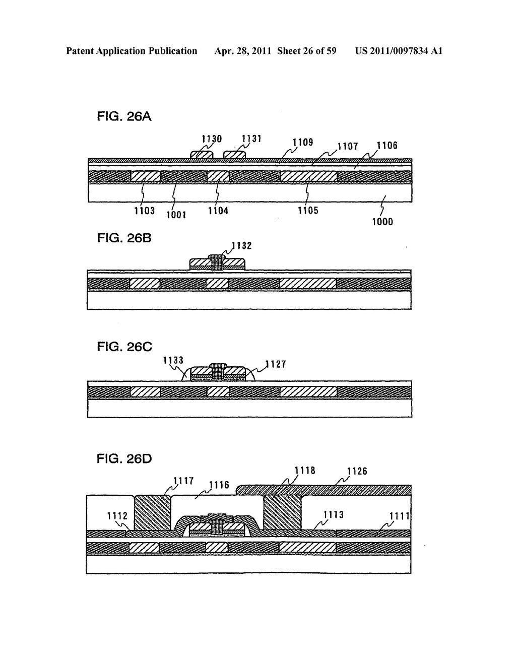 THIN FILM TRANSISTOR, DISPLAY DEVICE AND LIQUID CRYSTAL DISPLAY DEVICE AND METHOD FOR MANUFACTURING THE SAME - diagram, schematic, and image 27