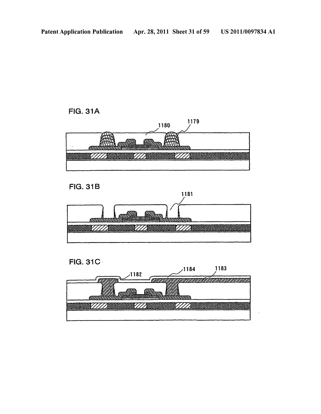 THIN FILM TRANSISTOR, DISPLAY DEVICE AND LIQUID CRYSTAL DISPLAY DEVICE AND METHOD FOR MANUFACTURING THE SAME - diagram, schematic, and image 32