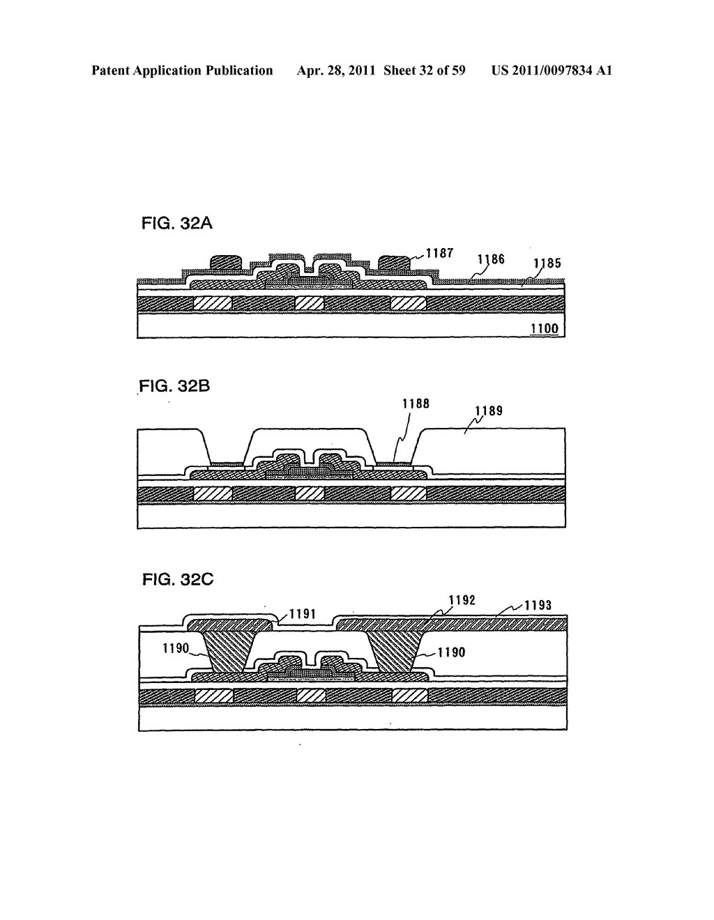THIN FILM TRANSISTOR, DISPLAY DEVICE AND LIQUID CRYSTAL DISPLAY DEVICE AND METHOD FOR MANUFACTURING THE SAME - diagram, schematic, and image 33