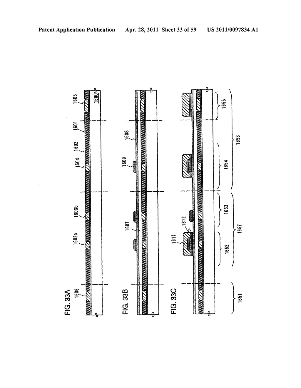 THIN FILM TRANSISTOR, DISPLAY DEVICE AND LIQUID CRYSTAL DISPLAY DEVICE AND METHOD FOR MANUFACTURING THE SAME - diagram, schematic, and image 34