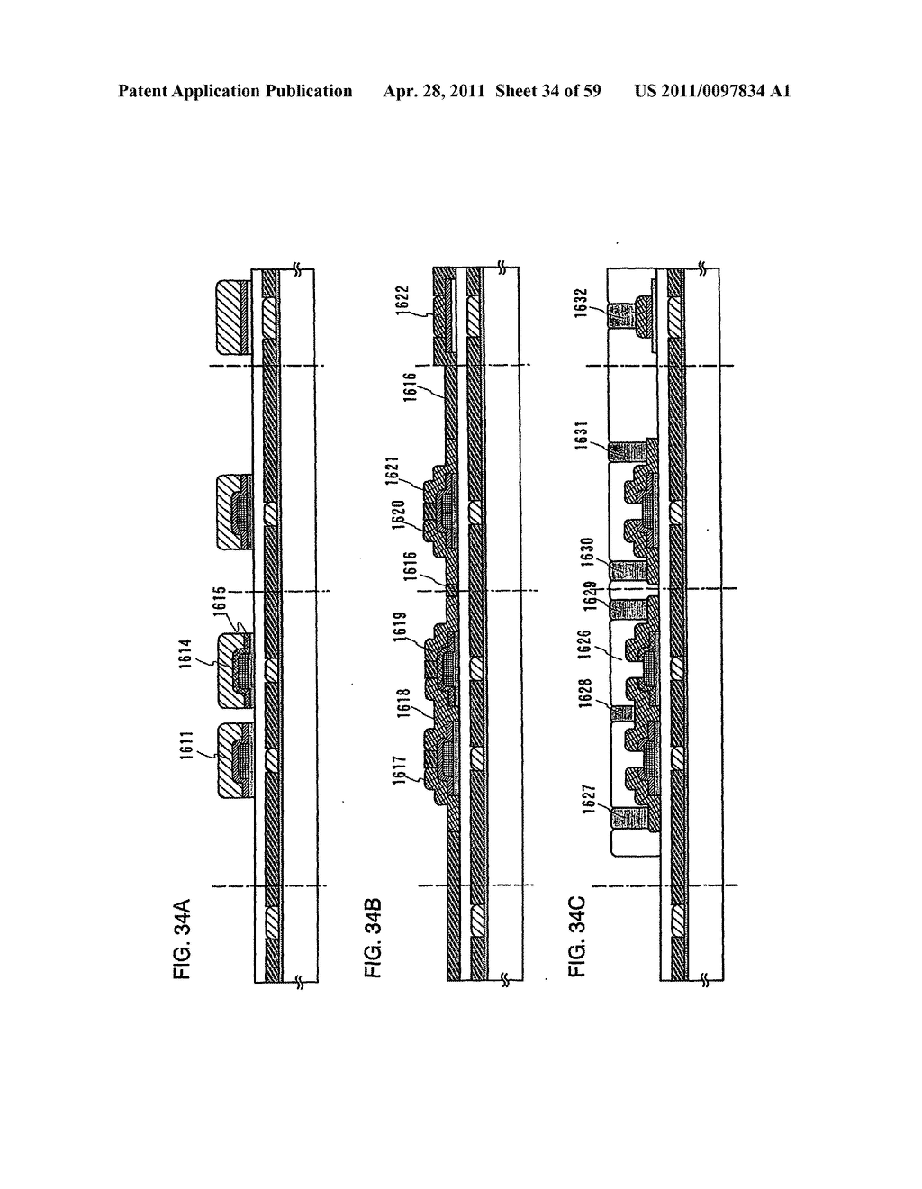 THIN FILM TRANSISTOR, DISPLAY DEVICE AND LIQUID CRYSTAL DISPLAY DEVICE AND METHOD FOR MANUFACTURING THE SAME - diagram, schematic, and image 35