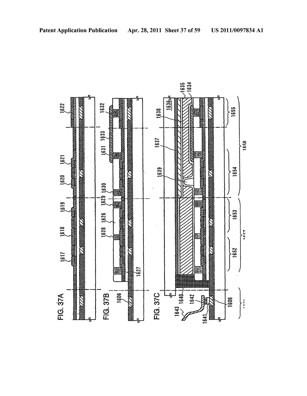 THIN FILM TRANSISTOR, DISPLAY DEVICE AND LIQUID CRYSTAL DISPLAY DEVICE AND METHOD FOR MANUFACTURING THE SAME - diagram, schematic, and image 38