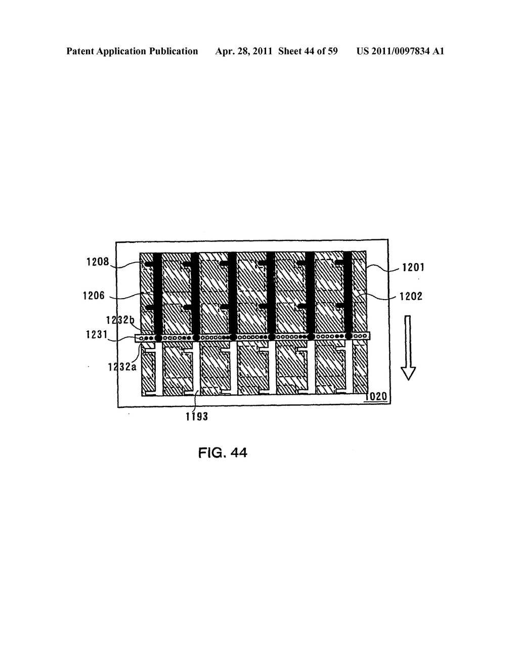 THIN FILM TRANSISTOR, DISPLAY DEVICE AND LIQUID CRYSTAL DISPLAY DEVICE AND METHOD FOR MANUFACTURING THE SAME - diagram, schematic, and image 45