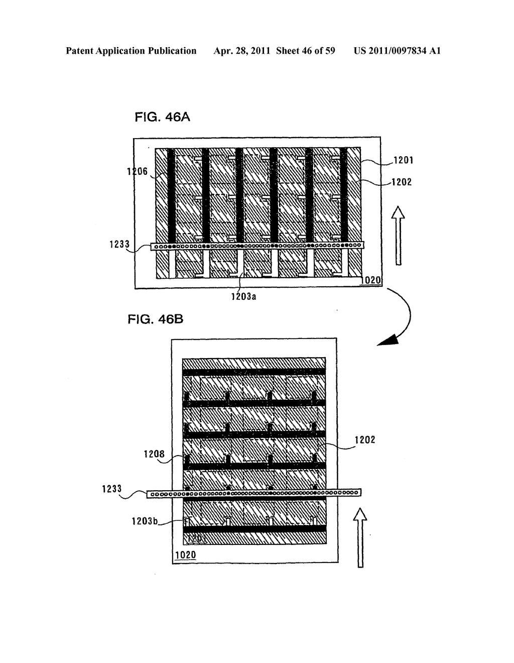 THIN FILM TRANSISTOR, DISPLAY DEVICE AND LIQUID CRYSTAL DISPLAY DEVICE AND METHOD FOR MANUFACTURING THE SAME - diagram, schematic, and image 47