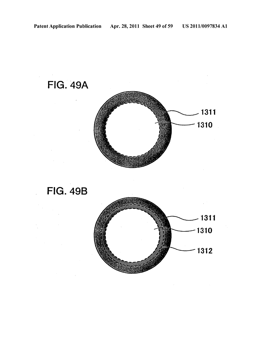 THIN FILM TRANSISTOR, DISPLAY DEVICE AND LIQUID CRYSTAL DISPLAY DEVICE AND METHOD FOR MANUFACTURING THE SAME - diagram, schematic, and image 50