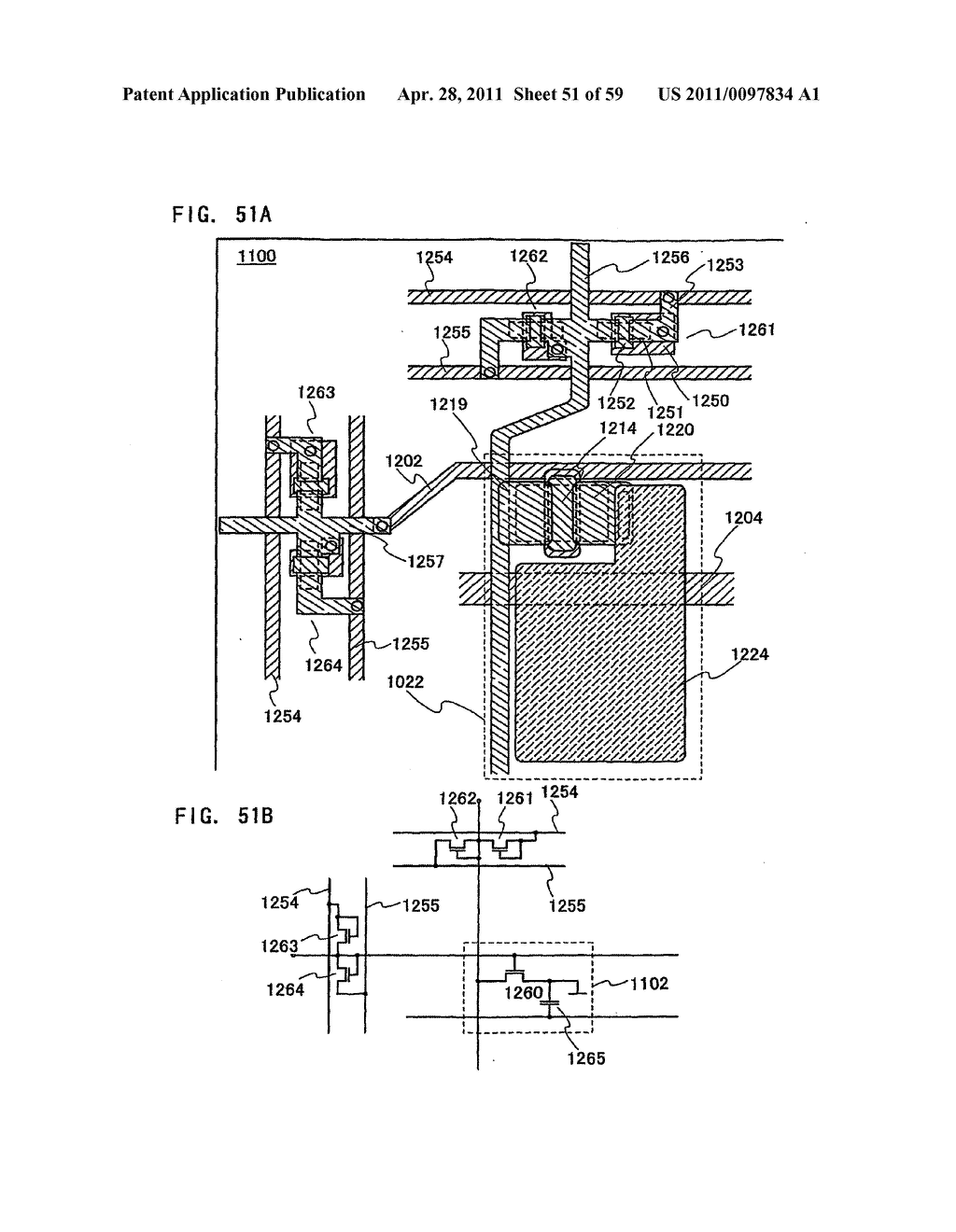THIN FILM TRANSISTOR, DISPLAY DEVICE AND LIQUID CRYSTAL DISPLAY DEVICE AND METHOD FOR MANUFACTURING THE SAME - diagram, schematic, and image 52