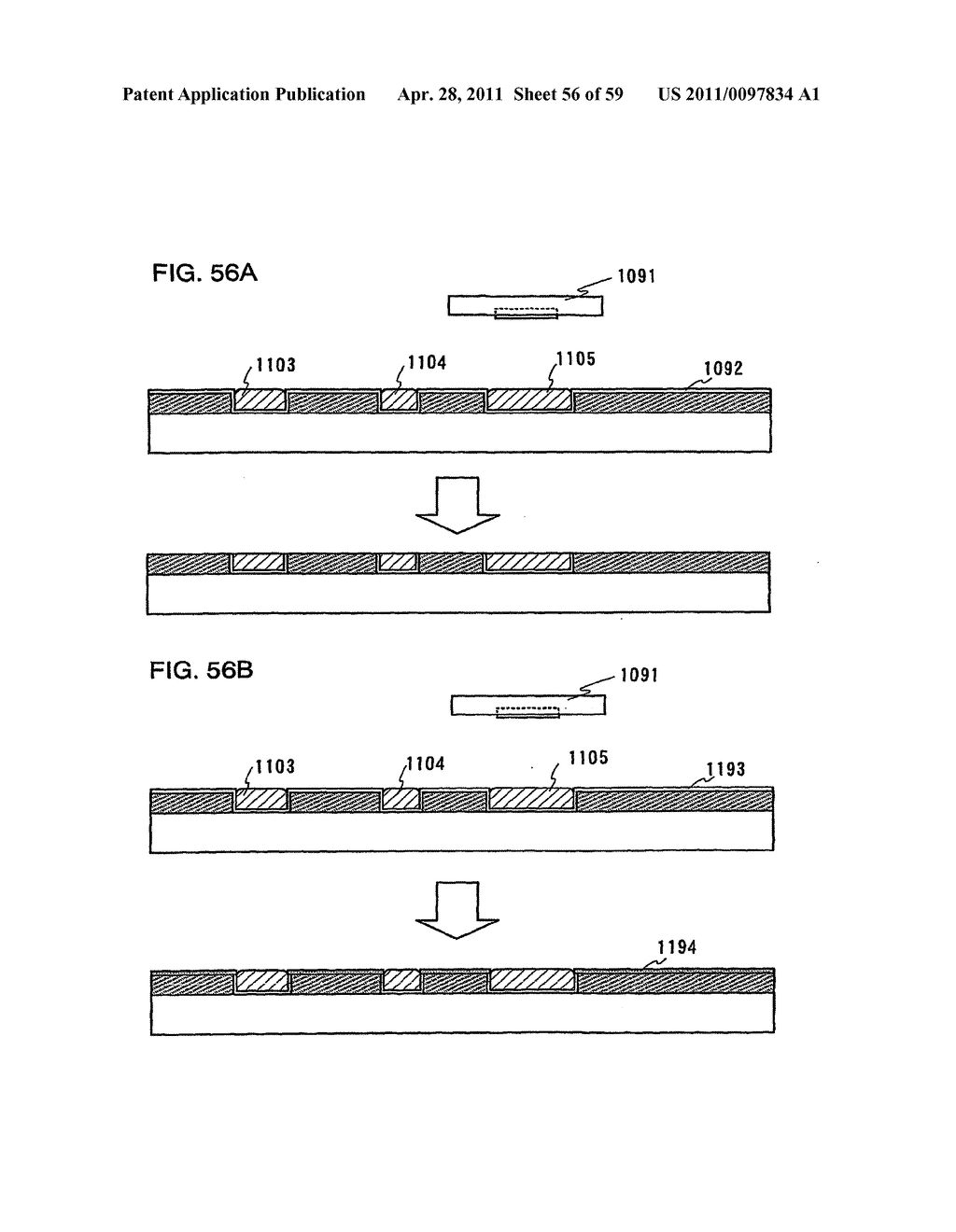 THIN FILM TRANSISTOR, DISPLAY DEVICE AND LIQUID CRYSTAL DISPLAY DEVICE AND METHOD FOR MANUFACTURING THE SAME - diagram, schematic, and image 57