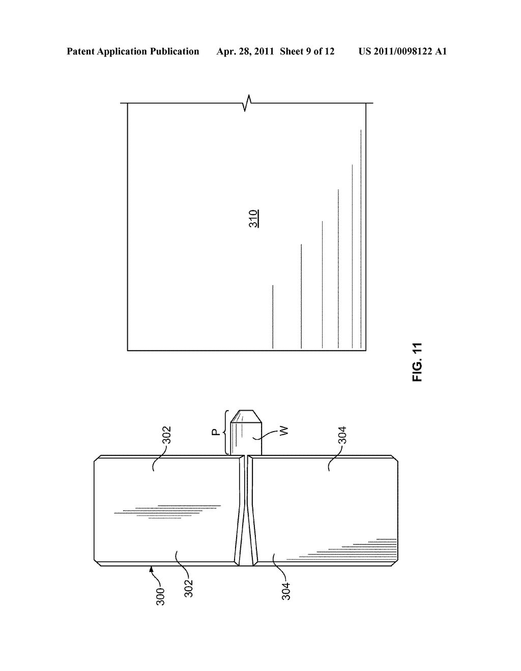 APPARATUS AND METHOD OF MAKING A HEEL-LESS NAIL - diagram, schematic, and image 10