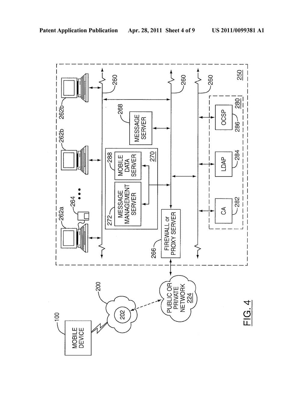 SYSTEM AND METHOD FOR RETRIEVING CERTIFICATES ASSOCIATED WITH SENDERS OF DIGITALLY SIGNED MESSAGES - diagram, schematic, and image 05