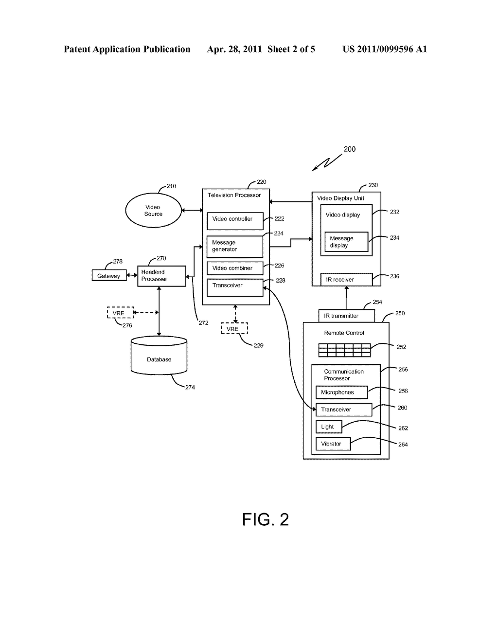 SYSTEM AND METHOD FOR INTERACTIVE COMMUNICATION WITH A MEDIA DEVICE USER SUCH AS A TELEVISION VIEWER - diagram, schematic, and image 03