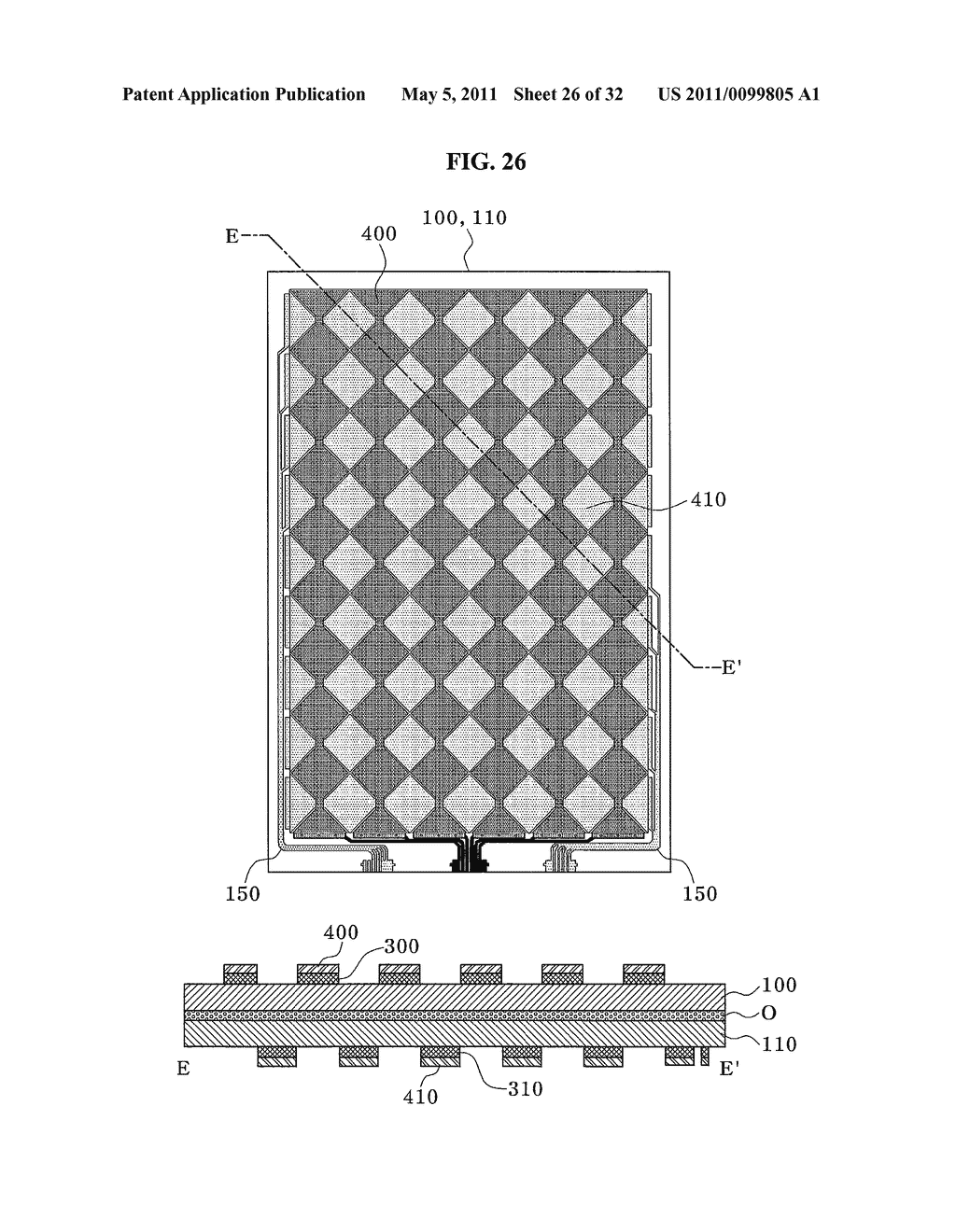 Method of Fabricating Capacitive Touch-Screen Panel - diagram, schematic, and image 27