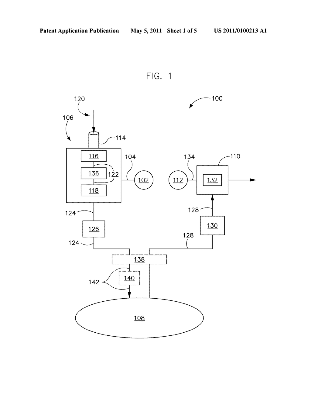 SYSTEM AND METHOD FOR REDUCING MOISTURE IN A COMPRESSED AIR ENERGY STORAGE SYSTEM - diagram, schematic, and image 02