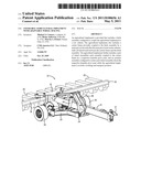 STEERABLE AGRICULTURAL IMPLEMENT WITH ADAPTABLE WHEEL SPACING diagram and image