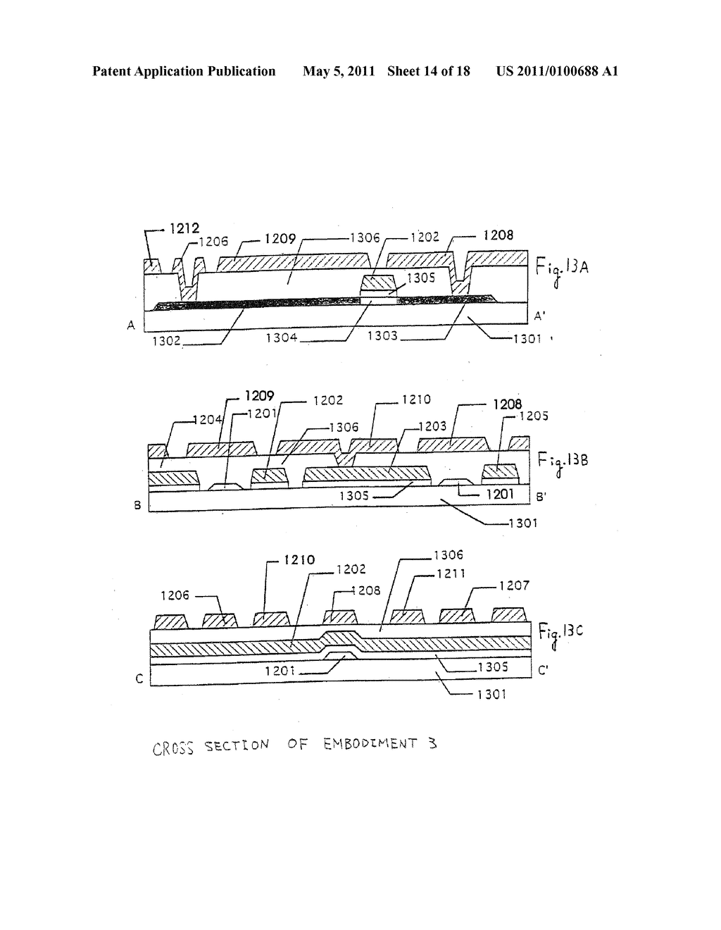 Electro-Optical Device and Method of Manufacturing the Same - diagram, schematic, and image 15