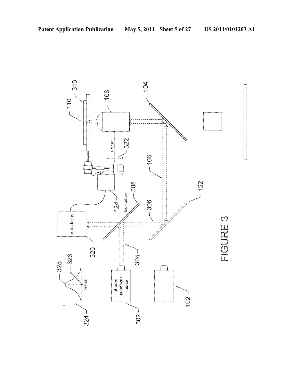 SYSTEM AND METHOD FOR CONTINUOUS, ASYNCHRONOUS AUTOFOCUS OF OPTICAL INSTRUMENTS - diagram, schematic, and image 06