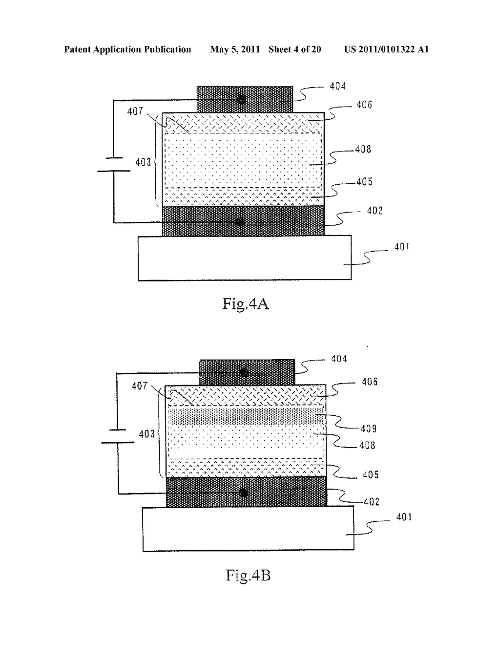 Organic Light Emitting Element and Display Device Using the Element - diagram, schematic, and image 05