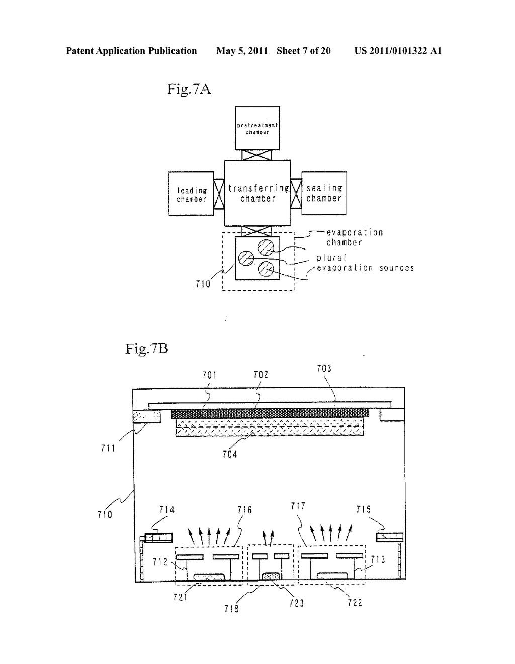 Organic Light Emitting Element and Display Device Using the Element - diagram, schematic, and image 08