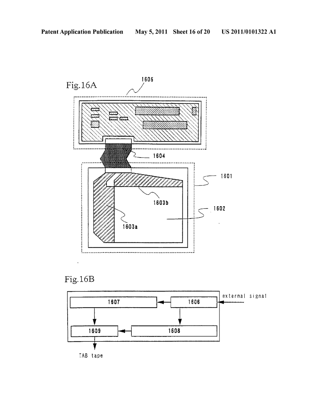 Organic Light Emitting Element and Display Device Using the Element - diagram, schematic, and image 17