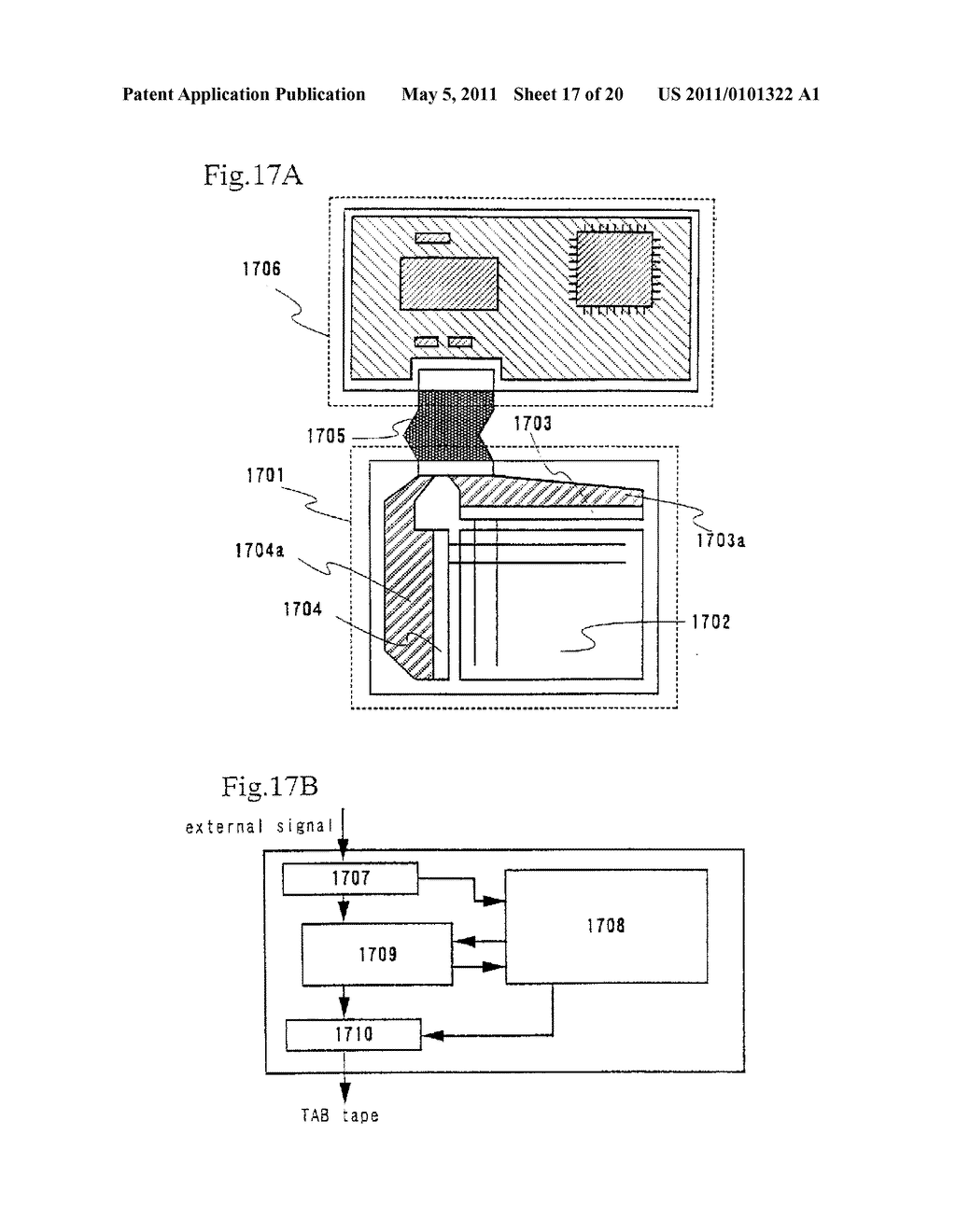 Organic Light Emitting Element and Display Device Using the Element - diagram, schematic, and image 18