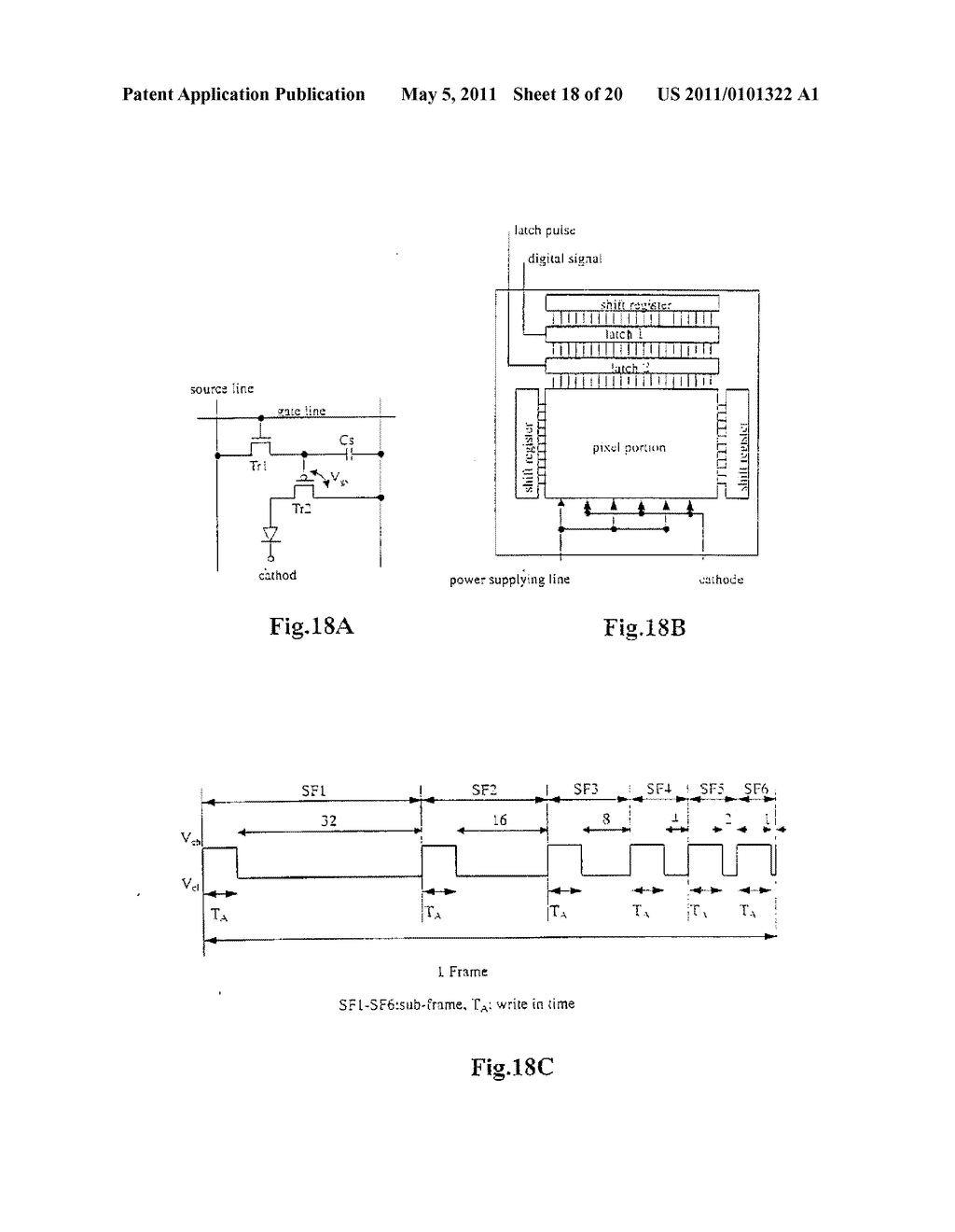 Organic Light Emitting Element and Display Device Using the Element - diagram, schematic, and image 19