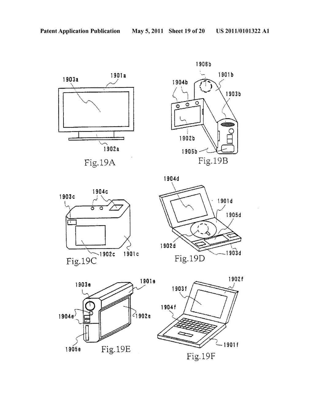Organic Light Emitting Element and Display Device Using the Element - diagram, schematic, and image 20