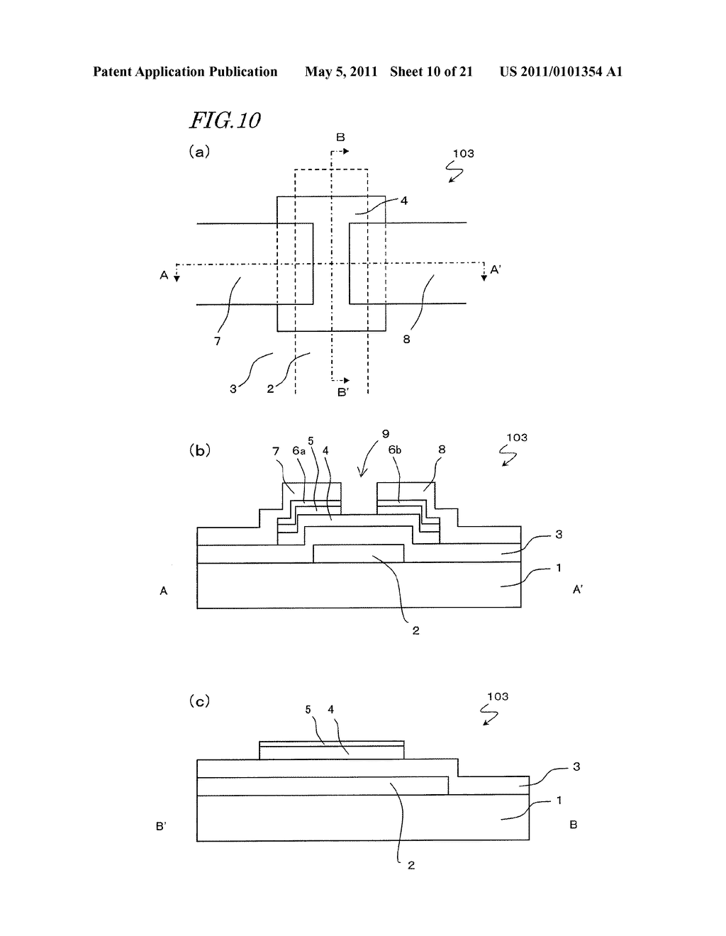 SEMICONDUCTOR ELEMENT AND METHOD FOR MANUFACTURING THE SAME - diagram, schematic, and image 11