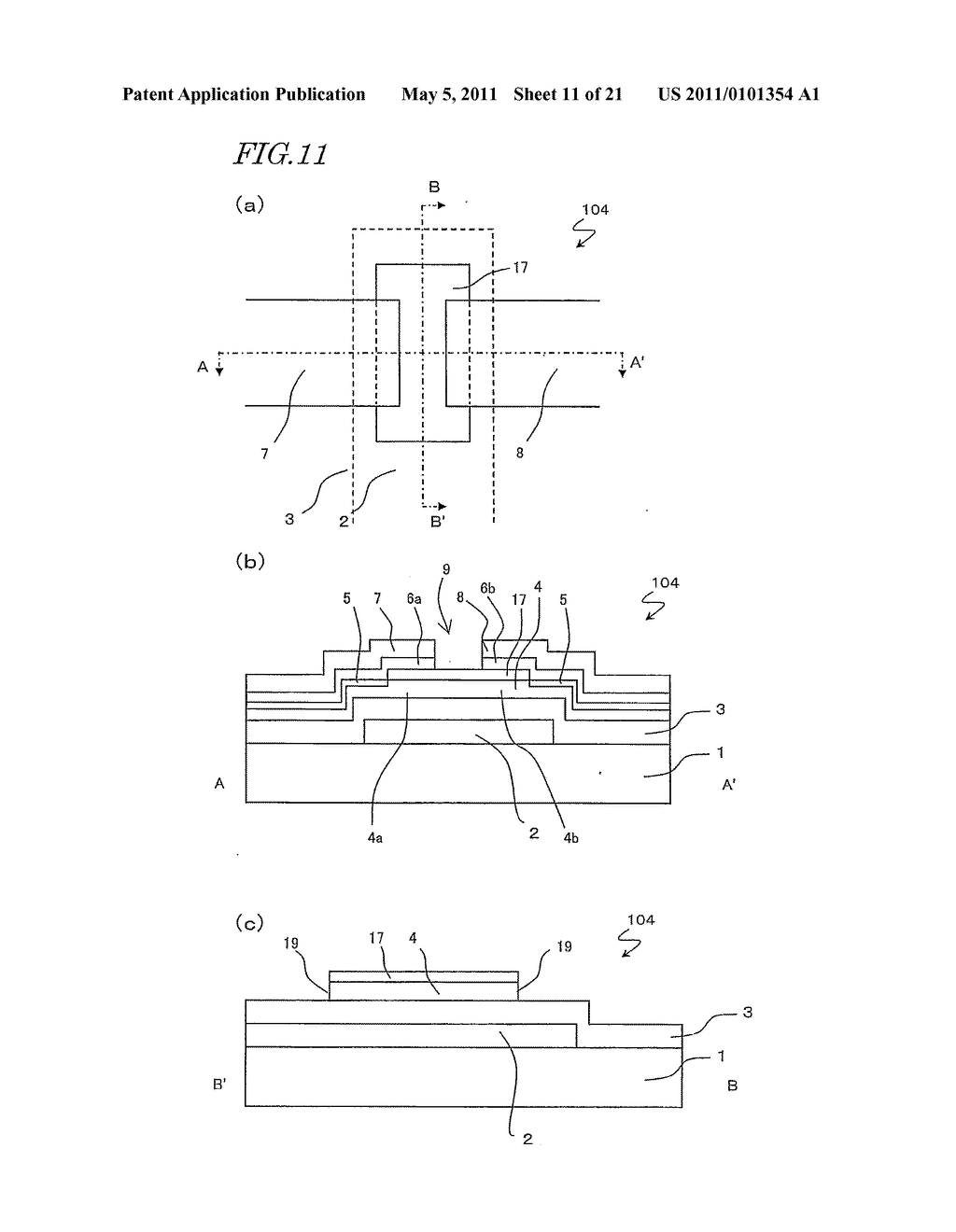 SEMICONDUCTOR ELEMENT AND METHOD FOR MANUFACTURING THE SAME - diagram, schematic, and image 12