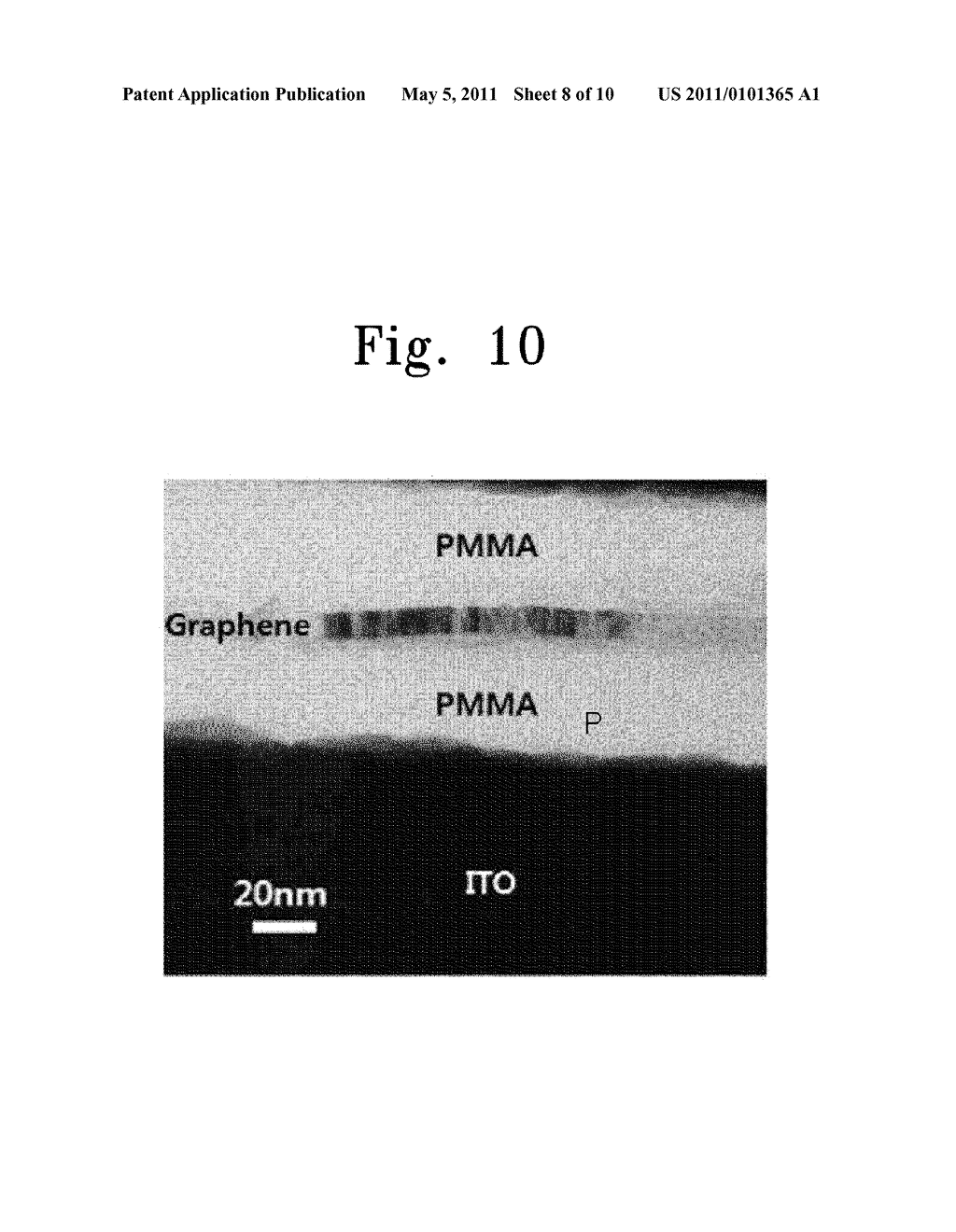 ELECTRONIC DEVICE INCLUDING GRAPHENE THIN FILM AND METHODS OF FABRICATING THE SAME - diagram, schematic, and image 09