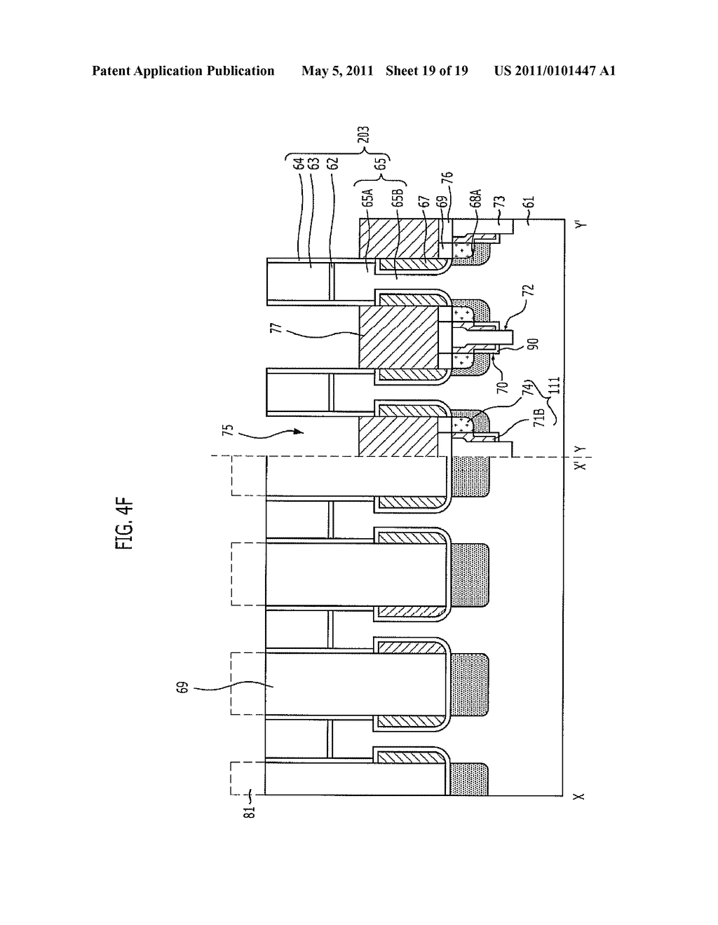 SEMICONDUCTOR DEVICE WITH BURIED BIT LINES AND METHOD FOR FABRICATING THE SAME - diagram, schematic, and image 20