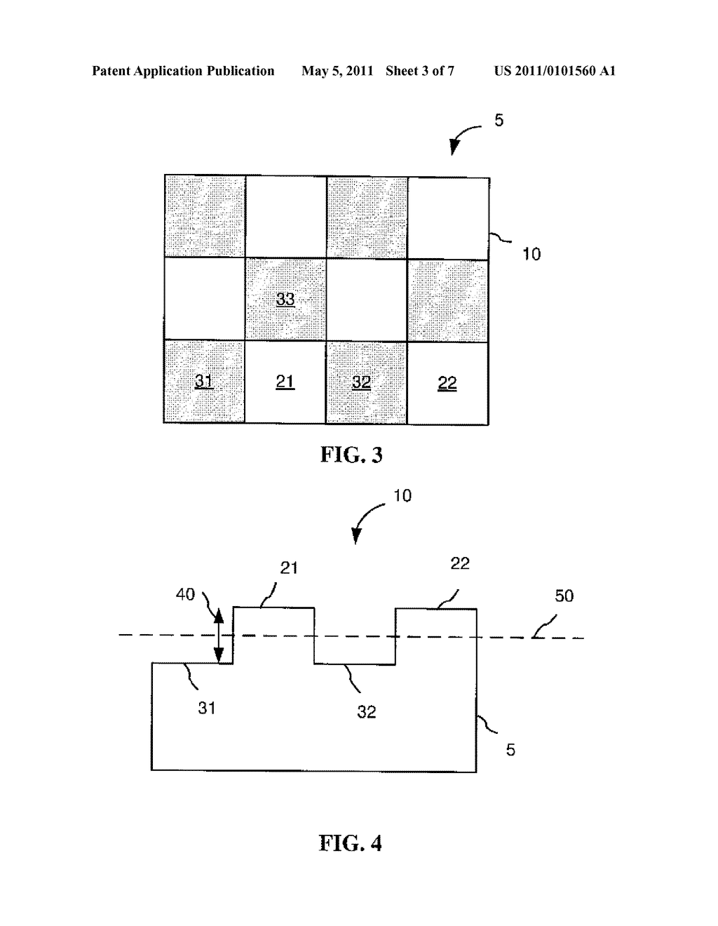 SUBSTRATE AND METHOD OF MANUFACTURING POLYGON FLAKES - diagram, schematic, and image 04