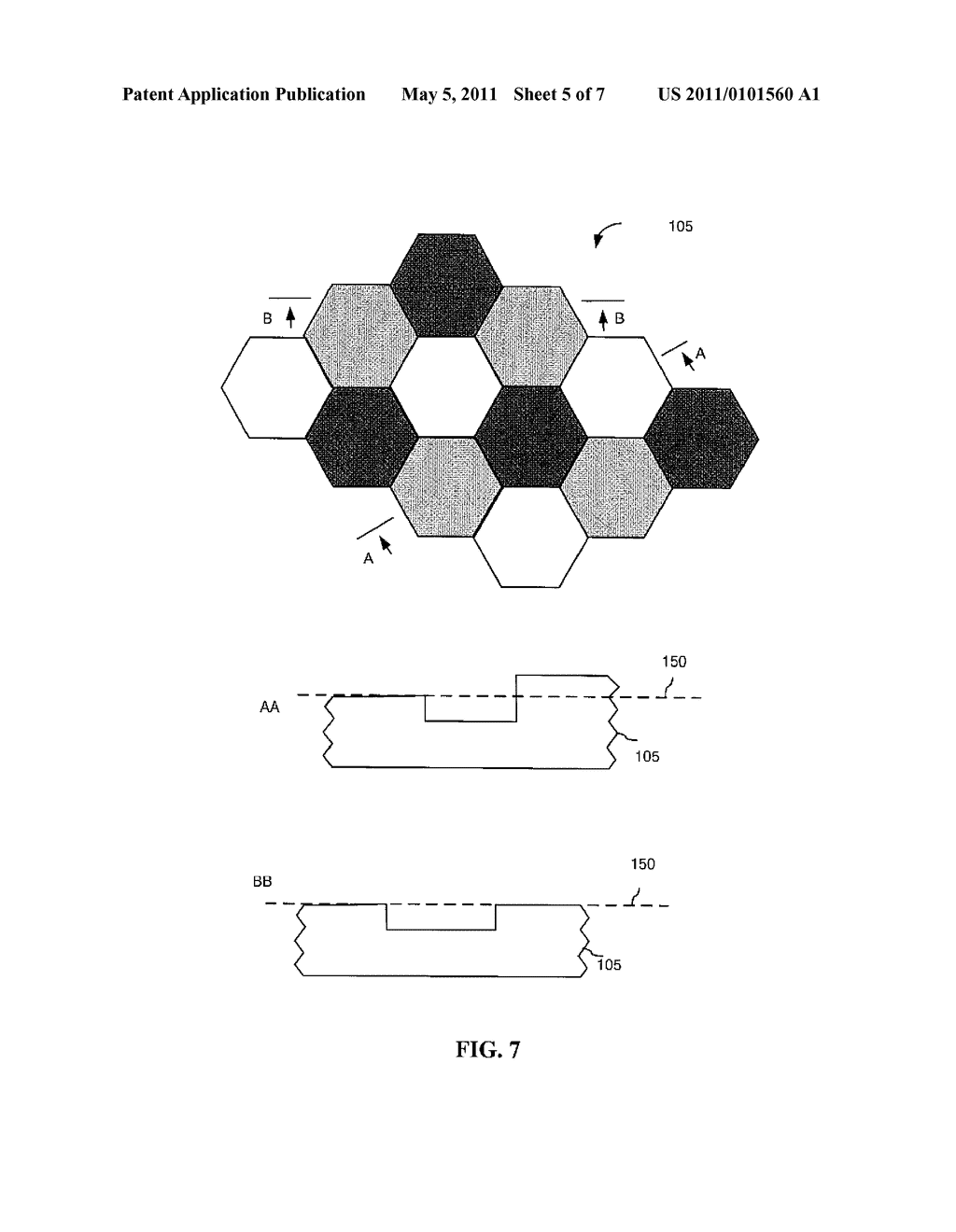 SUBSTRATE AND METHOD OF MANUFACTURING POLYGON FLAKES - diagram, schematic, and image 06
