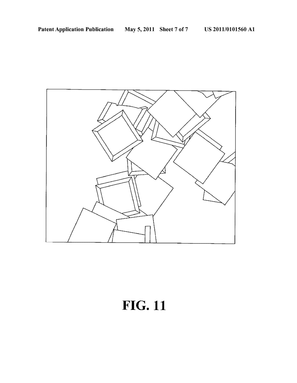 SUBSTRATE AND METHOD OF MANUFACTURING POLYGON FLAKES - diagram, schematic, and image 08