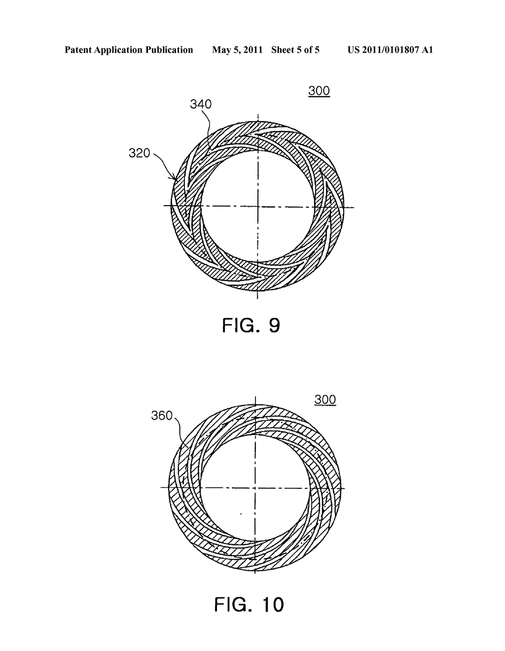 Hydrodynamic bearing assembly and motor having the same - diagram, schematic, and image 06