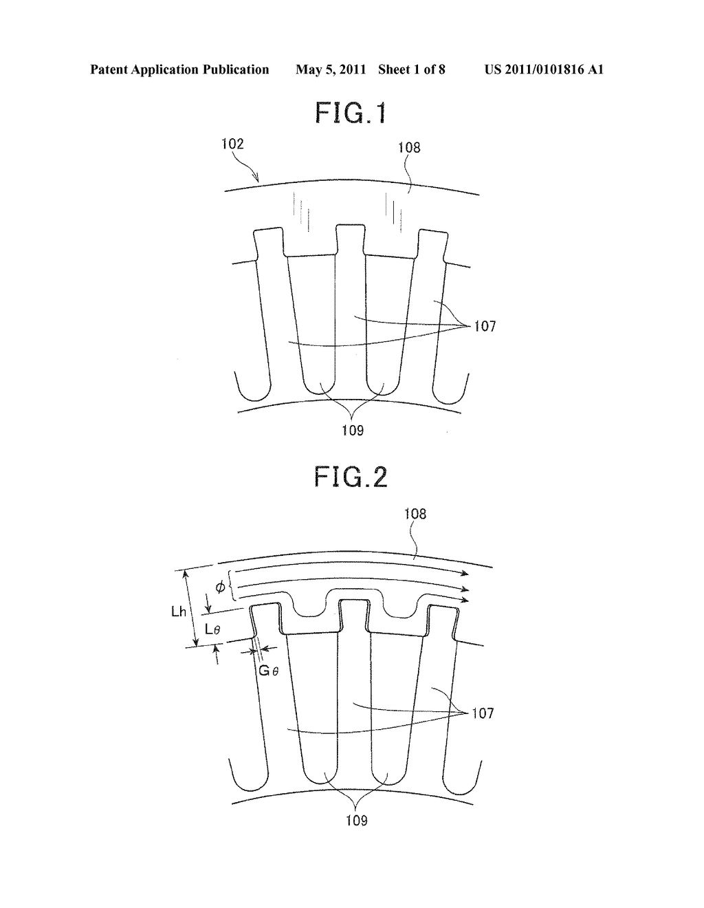 STATOR FOR A ROTATING ELECTRIC MACHINE AND ROTATING ELECTRIC MACHINE - diagram, schematic, and image 02