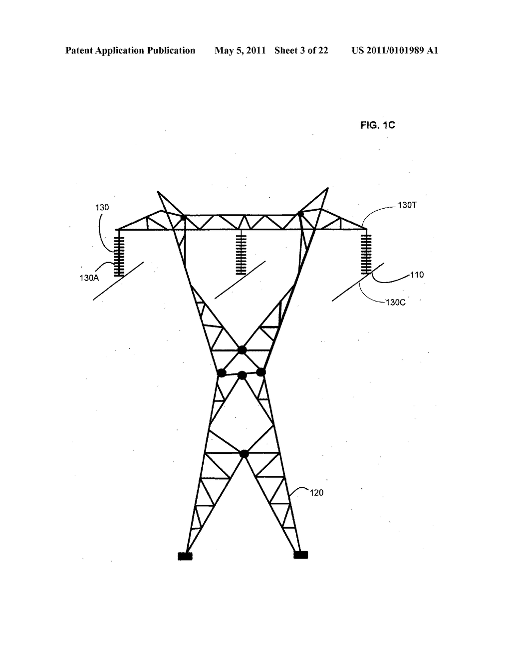 Systems and methods for testing the standoff capability of an overhead power transmission line - diagram, schematic, and image 04