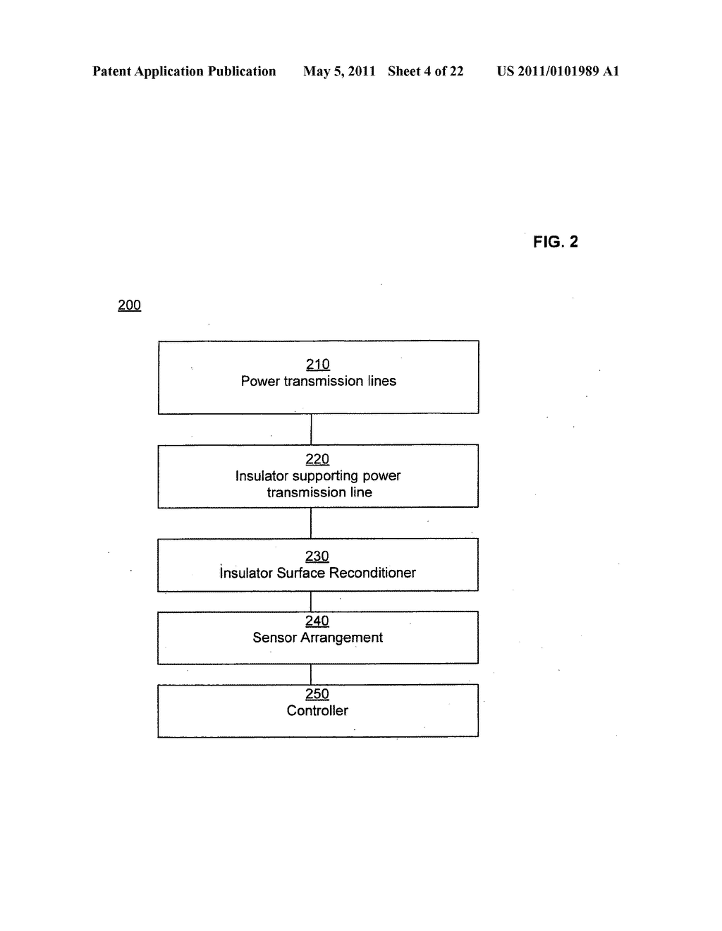 Systems and methods for testing the standoff capability of an overhead power transmission line - diagram, schematic, and image 05