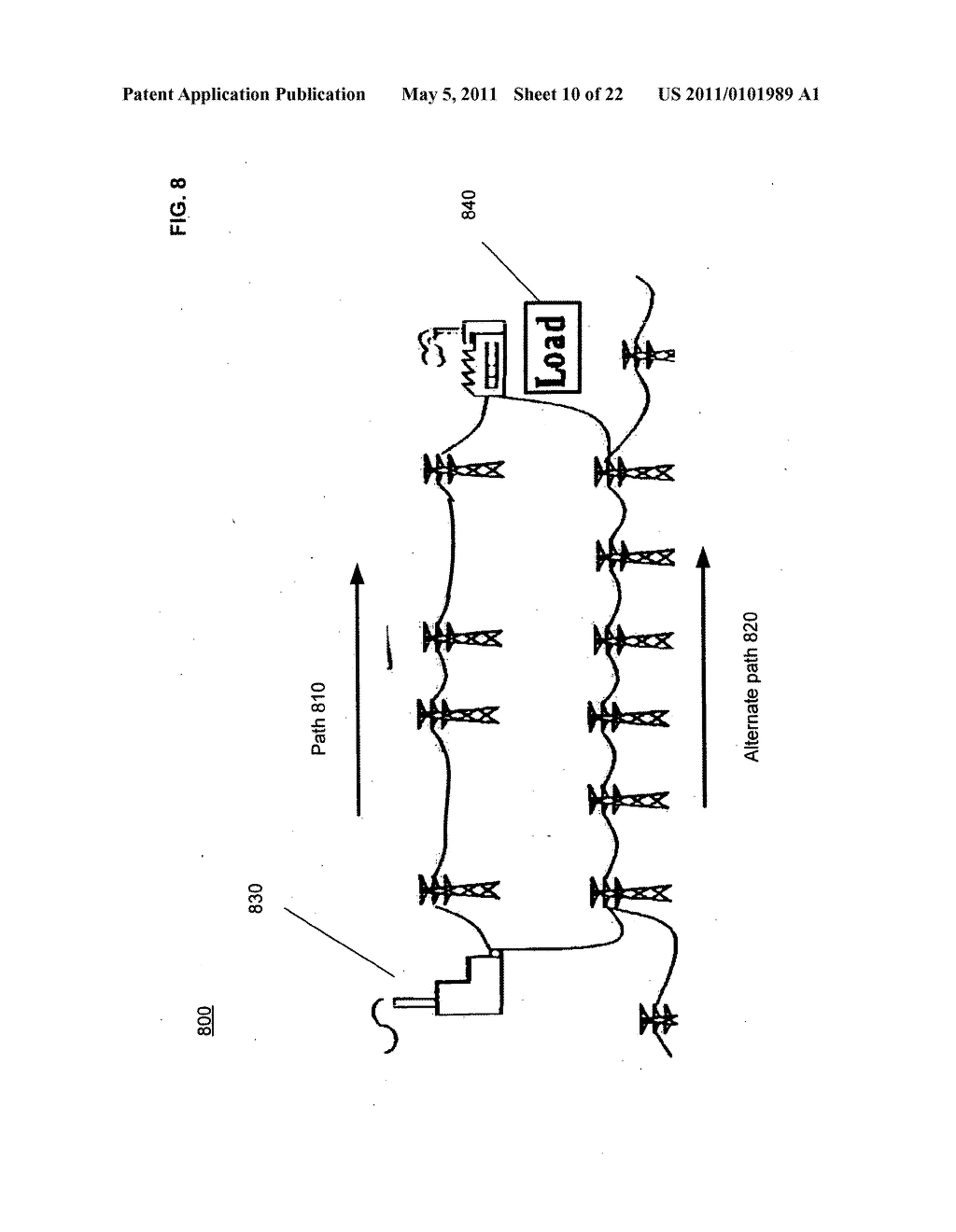 Systems and methods for testing the standoff capability of an overhead power transmission line - diagram, schematic, and image 11