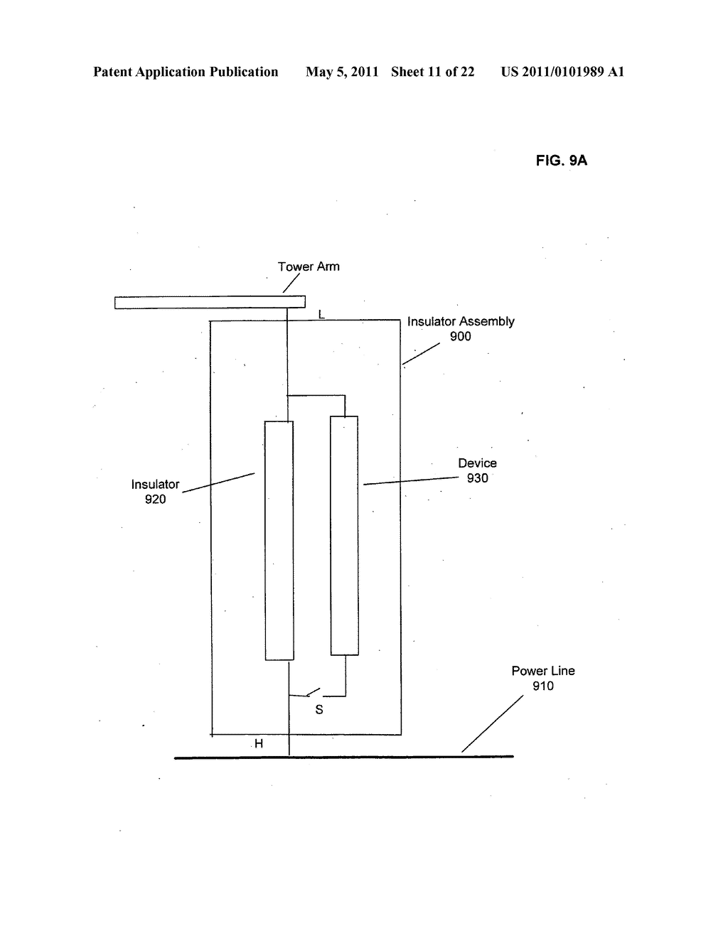 Systems and methods for testing the standoff capability of an overhead power transmission line - diagram, schematic, and image 12