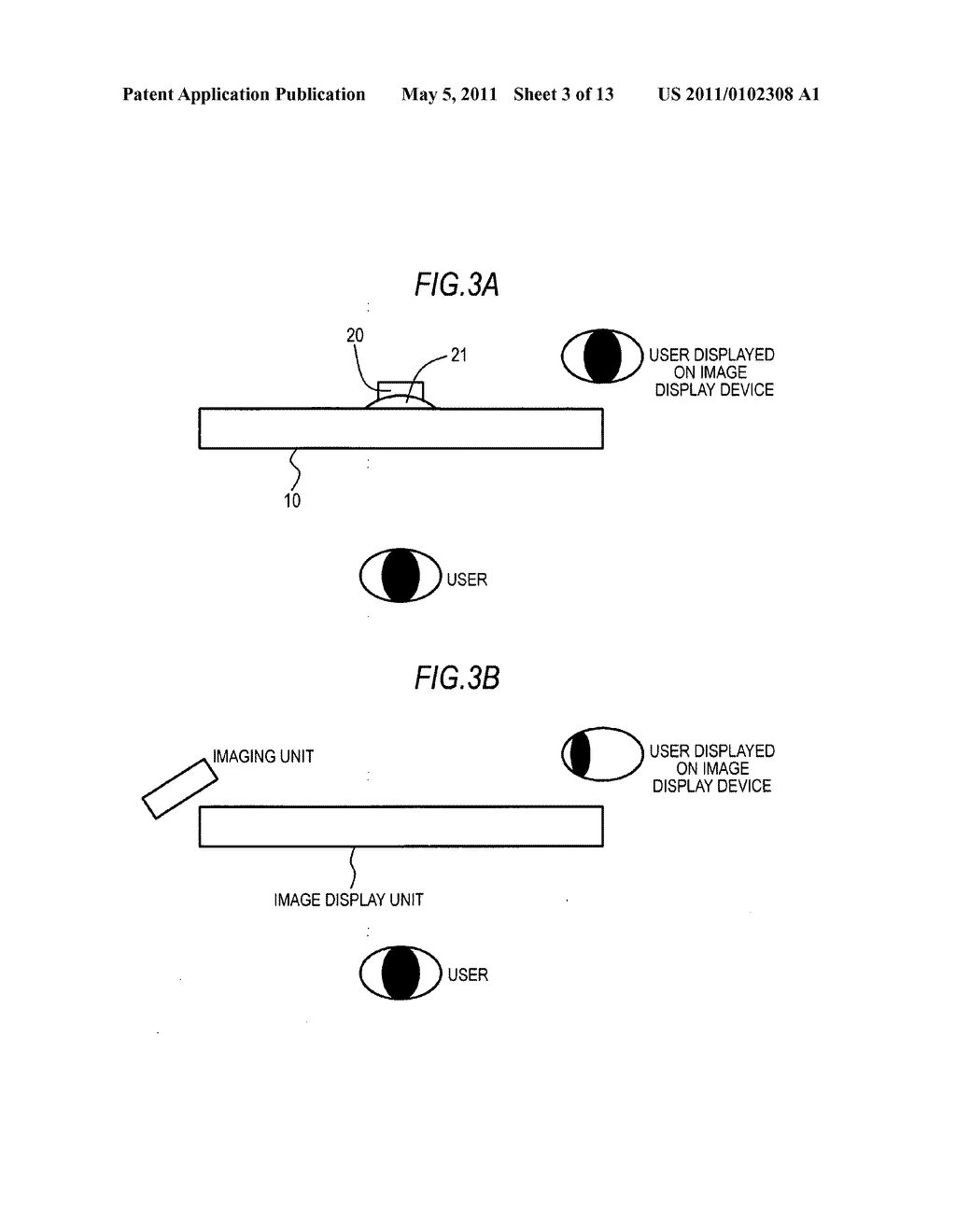 Image display device with imaging unit - diagram, schematic, and image 04